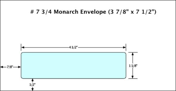 Envelope Construction Templates Double Envelope - 9x12 window envelope template